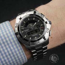 TA22306S Tag Heuer Aquaracer Chronotimer Wrist