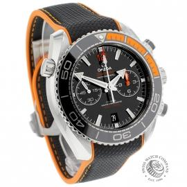 OM21294S Omega Seamaster Planet Ocean 600m Co Axial Chrono Dial