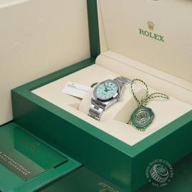 RO22454S Rolex Ladies Oyster Perpetual Unworn Box 1