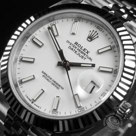 RO22350S Rolex Datejust 41 Unworn Close2
