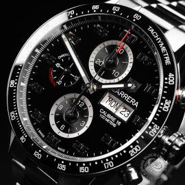 TA21988S Tag Heuer Carrera Calibre 16 Day-Date Chrono Close2