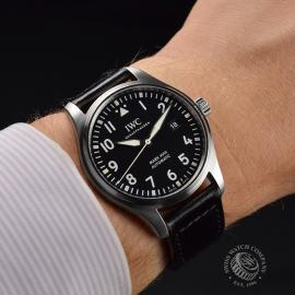 IW21223S IWC Pilots Watch Mark XVIII Wrist 1