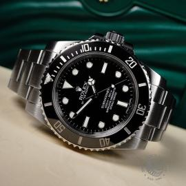 RO21836S Rolex Submariner Non Date Ceramic Close10