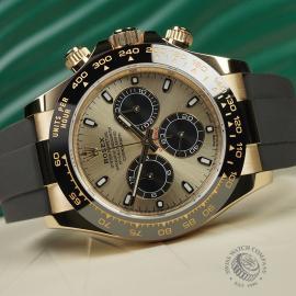 RO22580S Rolex Cosmograph Daytona 18ct Gold Cerachrom Unworn Close10