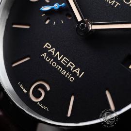 PA21799S Panerai Luminor 1950 3 Day GMT Close4