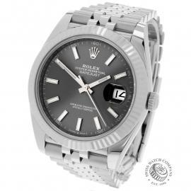 RO22583S Rolex Datejust 41 Unworn Back 1