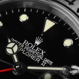 21351S Rolex Explorer II Close6