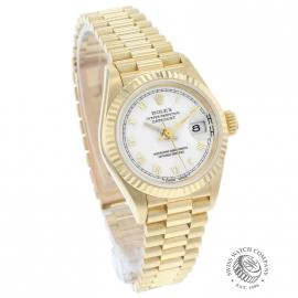 RO21030S Rolex Ladies Datejust 18ct Dial