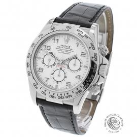 RO22609S Rolex Cosmograph Daytona 'White Gold' Back