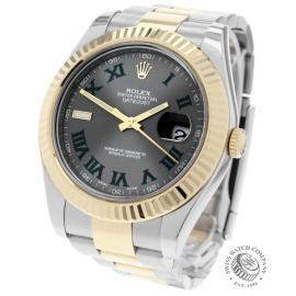 RO22692S Rolex Datejust II Back