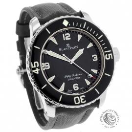 BL21592S Blancpain Fifty Fathoms Dial