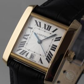 CA21253S Cartier Tank Francaise Mid Size18ct Close1