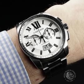 CA22200S Cartier Calibre de Cartier Chronograph Wrist