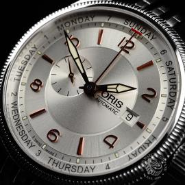 OR21845S Oris Big Crown Small Second Pointer Day Close2