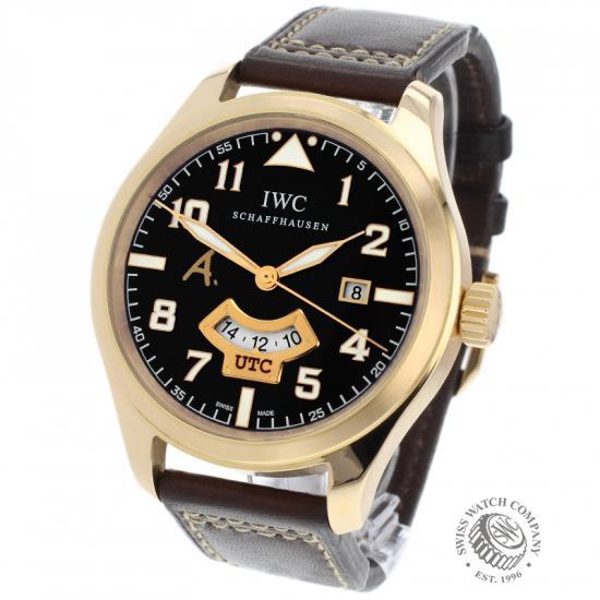IWC Pilot's Watch UTC Rose Gold