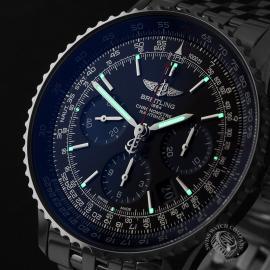 BR22147S Breitling Navitimer 01 Blue Edition Close1