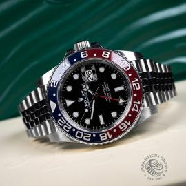 RO21783S Rolex GMT Master II BLRO Close10
