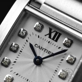 CA21054S Cartier Ladies Tank Francaise Small Model Close5