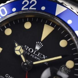 RO21200S Rolex Vintage GMT Master Close5