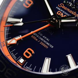 OM21772S Omega Seamaster Planet Ocean GMT 'Big Blue' Close4