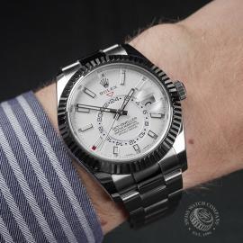 RO22524S Rolex Sky Dweller Wrist 1