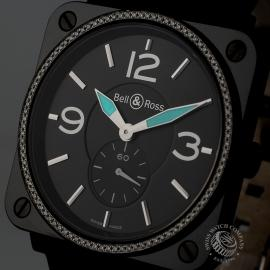14494S Bell & Ross BR-S Black Ceramic Close1