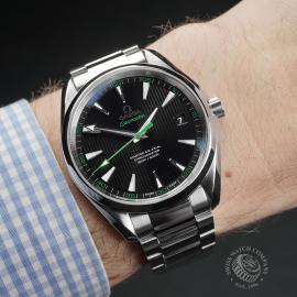 OM22415S Omega Seamaster Aqua Terra Golf Edition Wrist