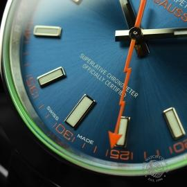 RO21189S Rolex Milgauss Anniversary - Green Glass Close6 1