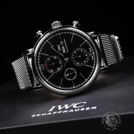 IW21825S IWC Portofino Chronograph Close10