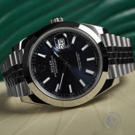 RO22342S Rolex Datejust 41 Unworn Close10 1