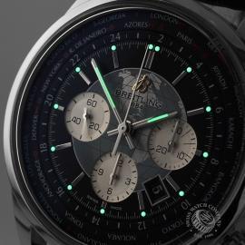 BR19708S Breitling Transocean Chronograph Unitime Close1