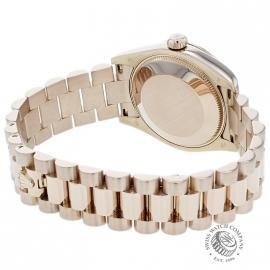 RO1852P Rolex Ladies Datejust 18ct Back 1