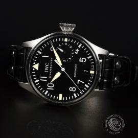 21425S IWC Big Pilots Watch Close10