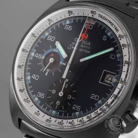 OM21085S Omega Vintage Seamaster Chronograph Calibre 1040 Close1