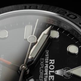 RO22408S Rolex Explorer II Orange Hand Close5