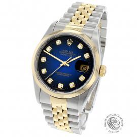 RO21739S Rolex Datejust Back