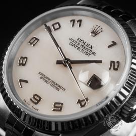 RO22548S Rolex Datejust 36 Close 2