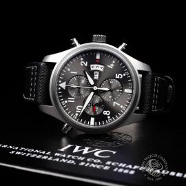 IW21828S IWC Pilots Double Chronograph 'Partouille Suisee'  Close10
