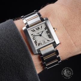 CA21251S Cartier Tank Francaise Large Size Wrist