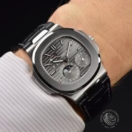 PT21241S Patek Philippe Nautilus 18ct White Gold Wrist