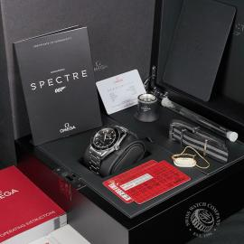 OM22653S Omega Seamaster 300 Master Co Axial SPECTRE Limited Edition Box