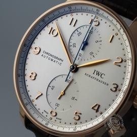IW1888P IWC Portugieser Chronograph Close 1