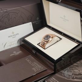 PK22578S Patek Philippe Nautilus Chronograph Rose Gold Box