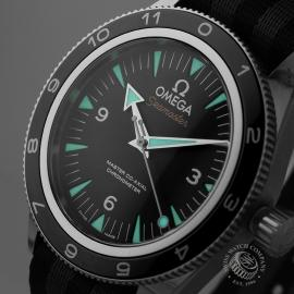 21510S Omega Seamaster 300 Master Co Axial SPECTRE Limited Edition Close1