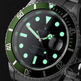 RO22411S Rolex Submariner Date 50th Anniv Close 1 1
