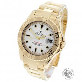 RO21757S Rolex Yacht-Master Mid size 18ct Back