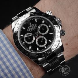 RO22403S Rolex Cosmograph Daytona Wrist