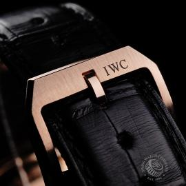 IW21979S IWC Portuguese 18ct Chronograph Close8