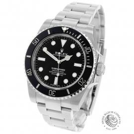 RO21761S Rolex Submariner Non Date Back