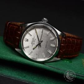 21473S Rolex Vintage Air King Close10